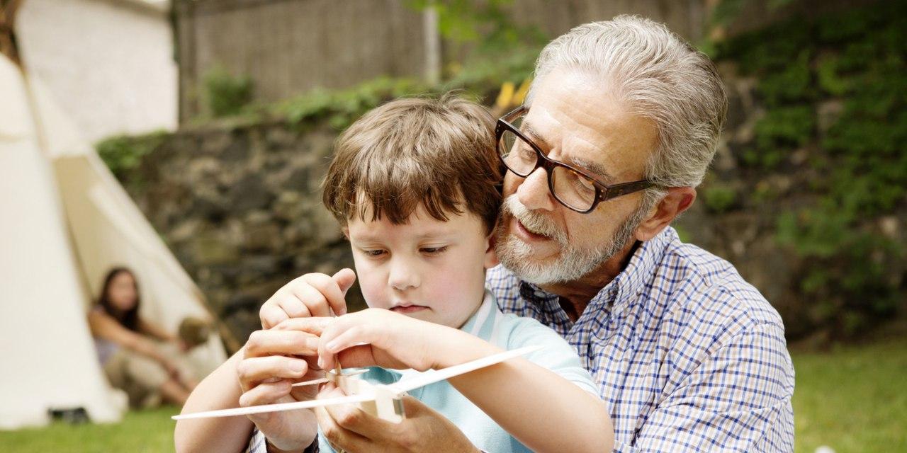 Картинки дедушки и внука