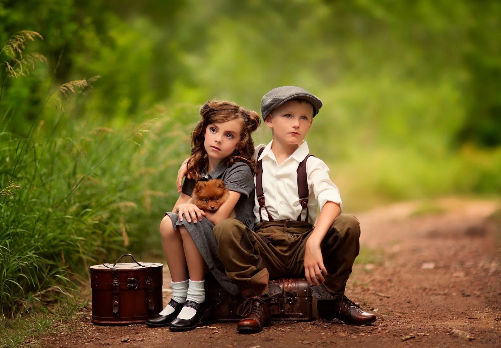 Гогунскии Горизонтальная девочка с мальчиком в лесу фильм отправки
